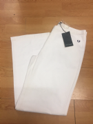 Fred Perry White Jeans
